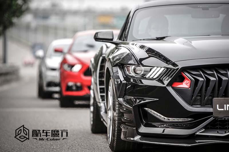 颜值爆表 Mustang试装ONES空力套件