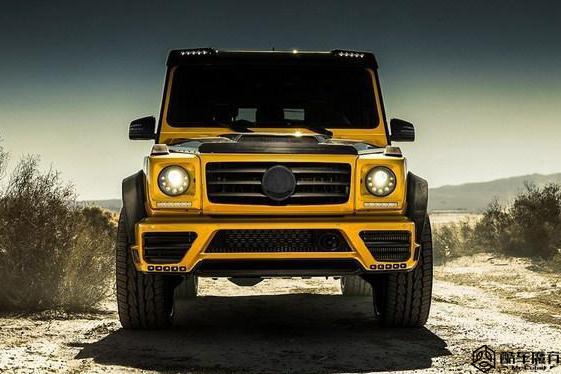 价值2万欧的奔驰G级套件 很黄很暴力
